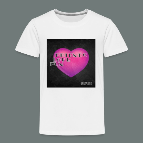 Offline Friends Love Fun - Kinderen Premium T-shirt