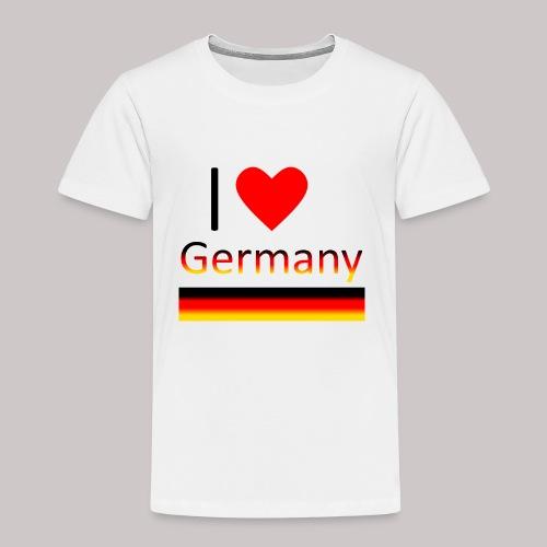 I love Germany - Ich liebe Deutschland - Kinder Premium T-Shirt