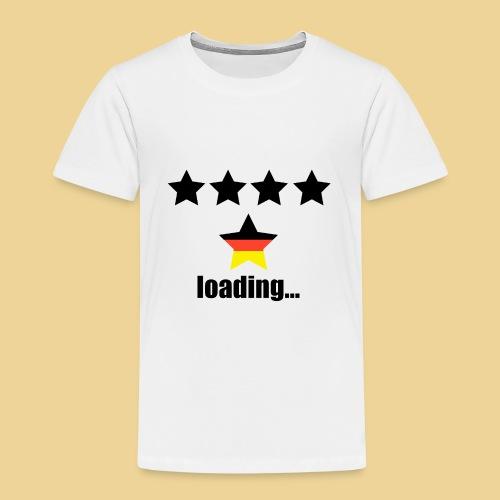 5. Stern für Deutschland? Spezielles WM-Design - Kinder Premium T-Shirt