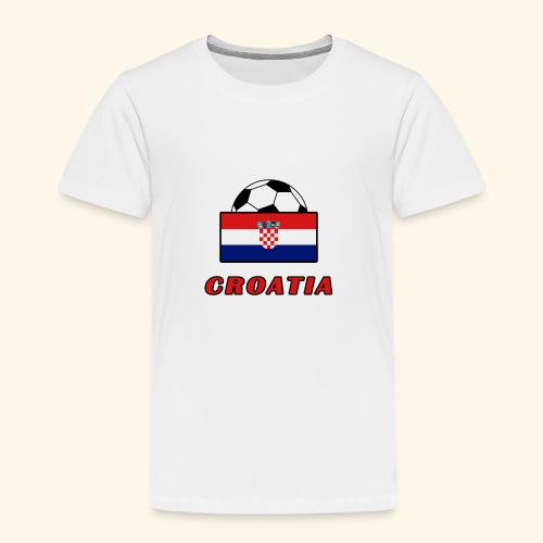 CROATIA TEAM design - Kids' Premium T-Shirt