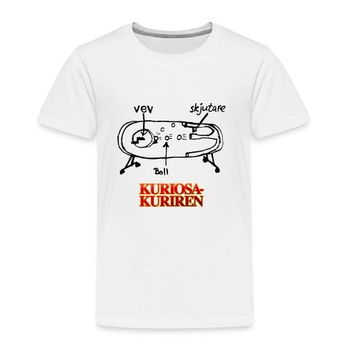 Hultqvists supervapen - Premium-T-shirt barn