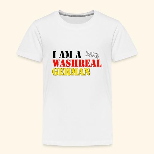 I'm a washreal German - ein waschechter Deutscher - Kinder Premium T-Shirt
