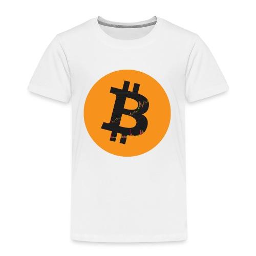 Bitcoin Logo - Kinder Premium T-Shirt