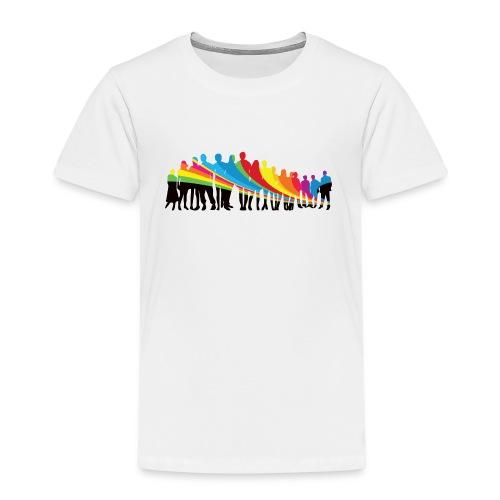 Vielfalt Regenbogen - Kinder Premium T-Shirt