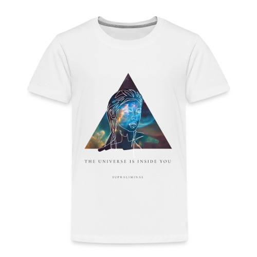 THE UNIVERSE IS INSIDE YOU - Premium-T-shirt barn