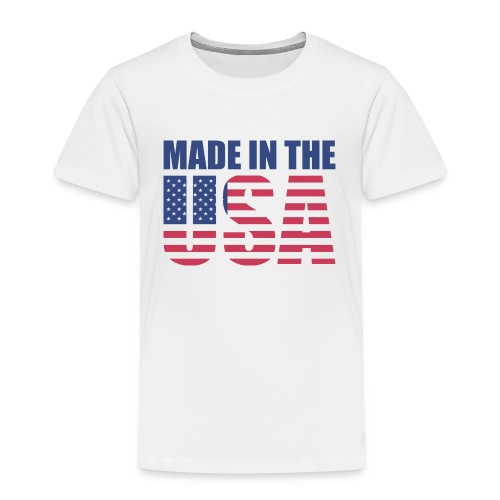 Made in the USA - T-shirt Premium Enfant