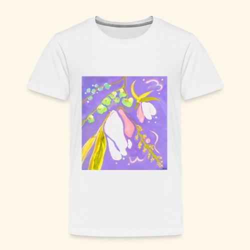 Violetteblume - Kinder Premium T-Shirt