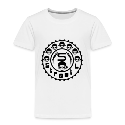 rawstyles rap hip hop logo money design by mrv - Koszulka dziecięca Premium