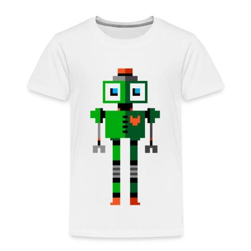 Green Robot - Kids' Premium T-Shirt