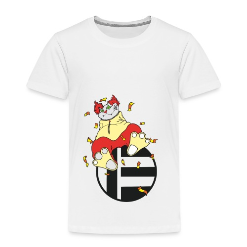 Katze Clown - Kinder Premium T-Shirt