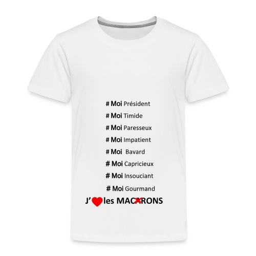 J'aime les macarons - T-shirt Premium Enfant