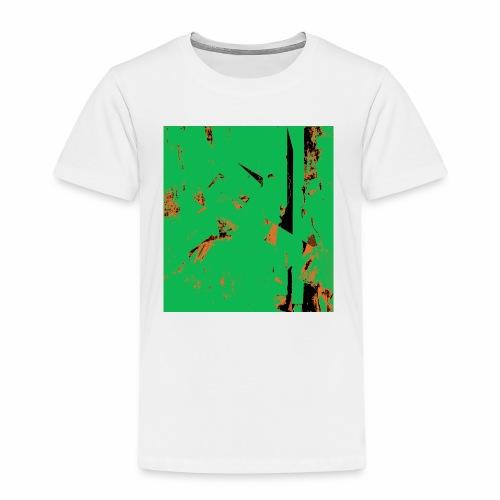 Dancers Pink and Green - Kinder Premium T-Shirt