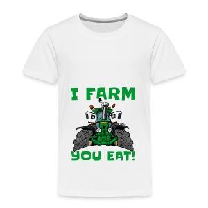 I farm you eat jd - Kinderen Premium T-shirt