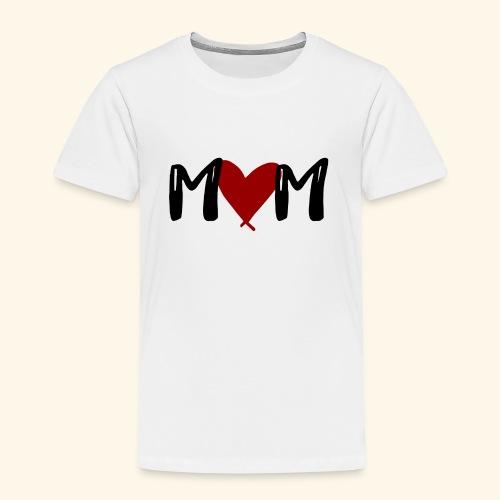 M♥M - Mom mit Herzen - Kinder Premium T-Shirt