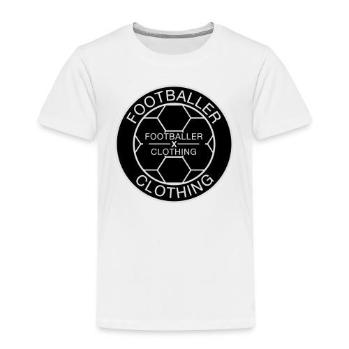 Footballer Clothing Logo - Kinder Premium T-Shirt