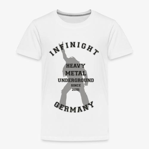 Infinight College headbanger dark - Kinder Premium T-Shirt