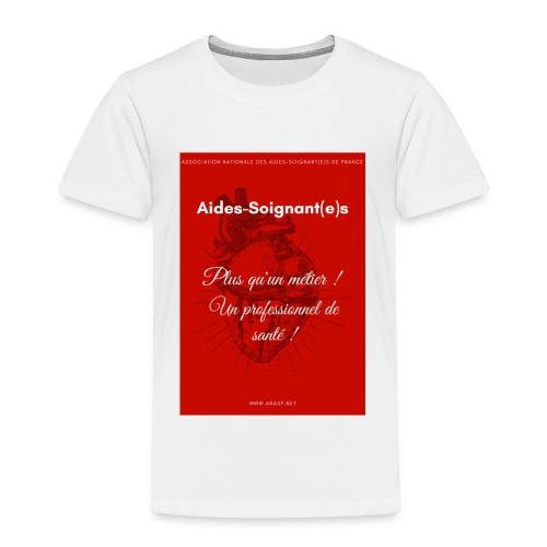 Association Nationale des aides soignant e s de fr - T-shirt Premium Enfant