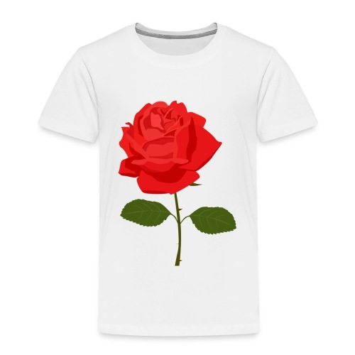 Red Rose - Kinderen Premium T-shirt