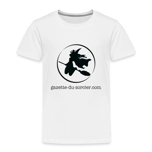 T-shirt logo Gazette - T-shirt Premium Enfant