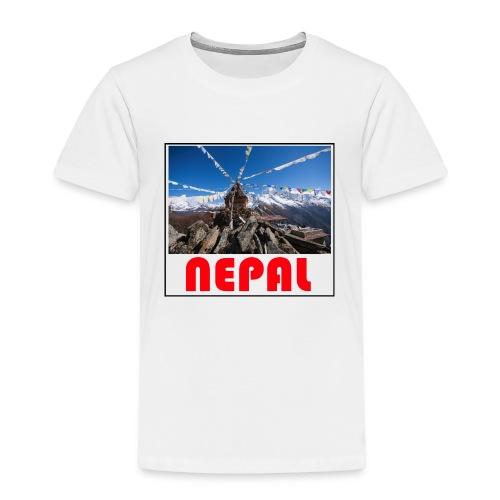 Nepal T-shirt - Kids' Premium T-Shirt