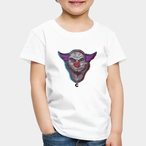 Clown - Maglietta Premium per bambini