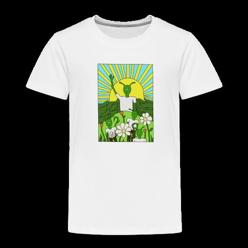 flower tee - Kinderen Premium T-shirt