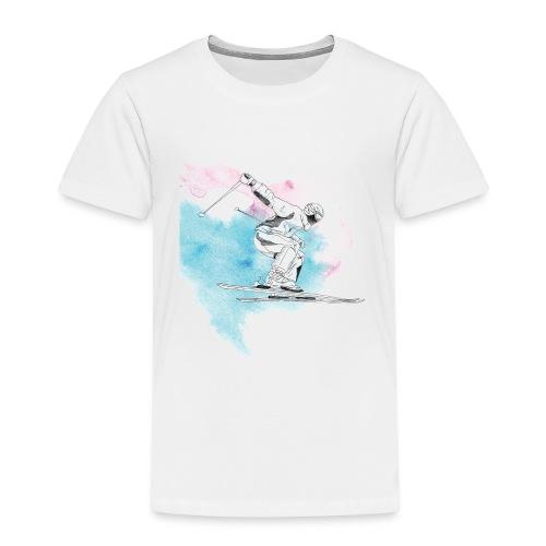 Skiing - Kids' Premium T-Shirt