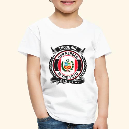 Peru 🇵🇪 - Kinder Premium T-Shirt
