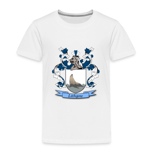 Lithgow Family Crest - Kids' Premium T-Shirt