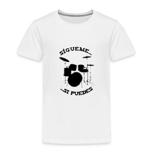 Sigue al batería - Camiseta premium niño