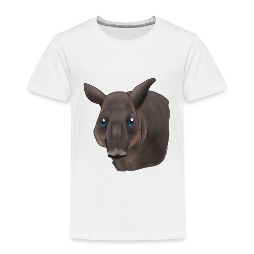Tapir Portrait - Kinder Premium T-Shirt