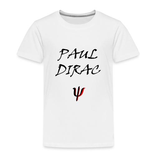 Paul_Dirac_Spinor_-1-png - Maglietta Premium per bambini