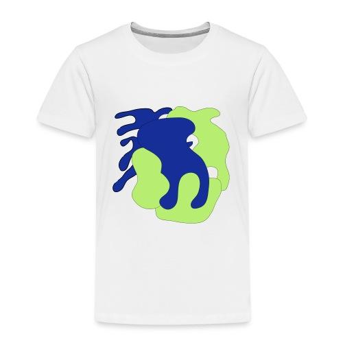 Macchie_di_colore-ai - Maglietta Premium per bambini