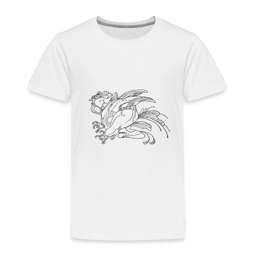 fat birdman - Maglietta Premium per bambini