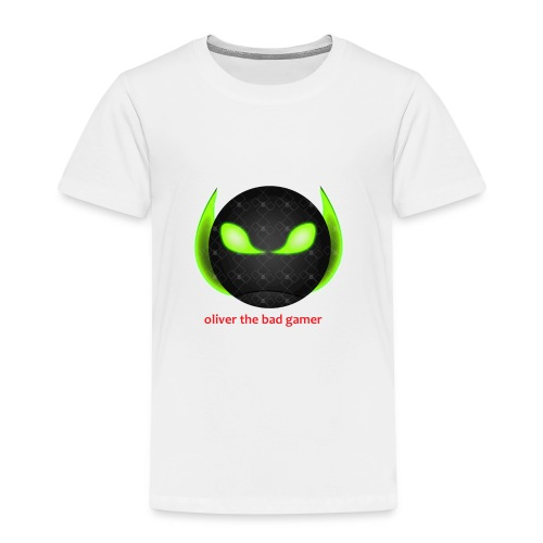 oliver_the_bad_gamer-png - Premium-T-shirt barn