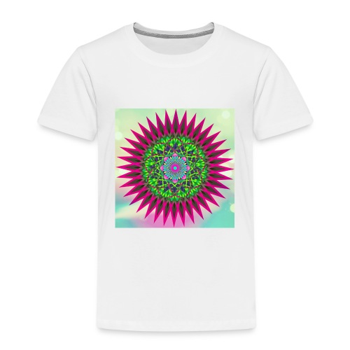 Mandala Flower - Premium T-skjorte for barn