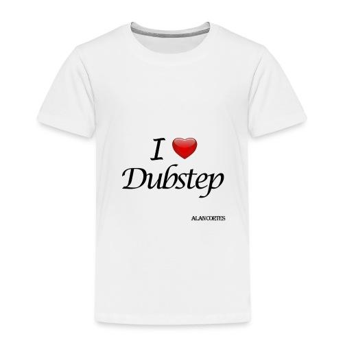 Camiseta - Mujer - I Love Dubstep - Camiseta premium niño