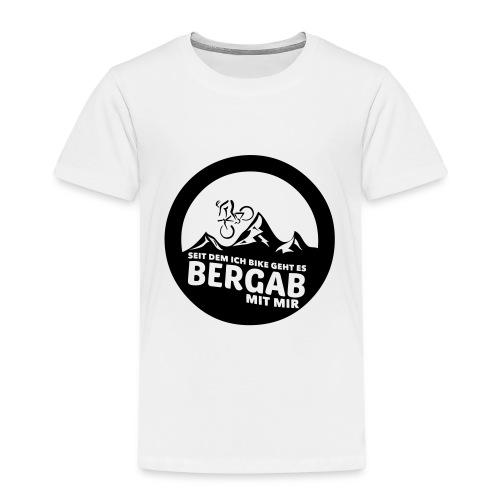 Seit dem ich bike geht es bergab mit mir (BLACK) - Kinder Premium T-Shirt