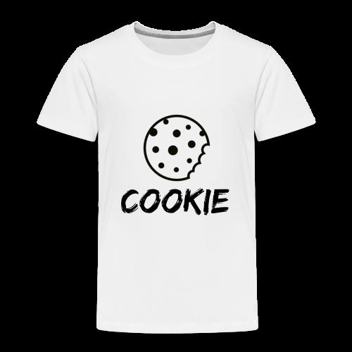 Cookie_-_Black_-_cookie - Kids' Premium T-Shirt