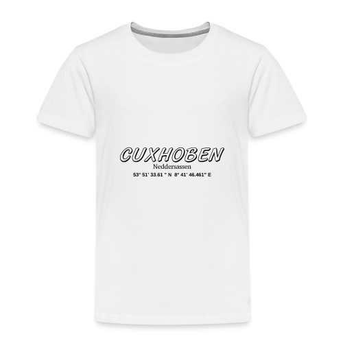 cuxhoben Neddersassen - Kinder Premium T-Shirt