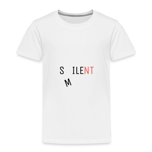 Silent Smile - Kids' Premium T-Shirt