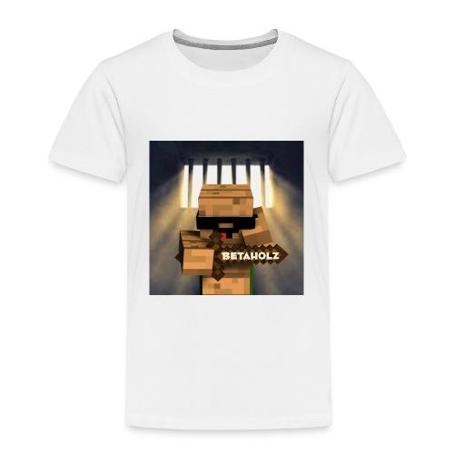 mein YouTube profielBild mit dem Getto Holz im Kna - Kinder Premium T-Shirt