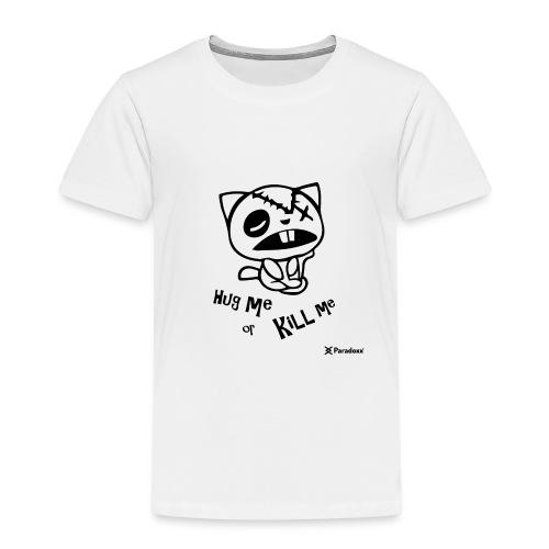 Happy tree friends Hug me or kill me - Dark cat' - T-shirt Premium Enfant