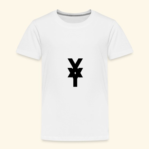 XY Logo In Black - Kids' Premium T-Shirt
