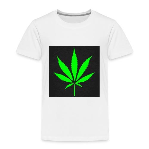 schwarz cannabis marihuana hanf t shirt maenner t - Kinder Premium T-Shirt