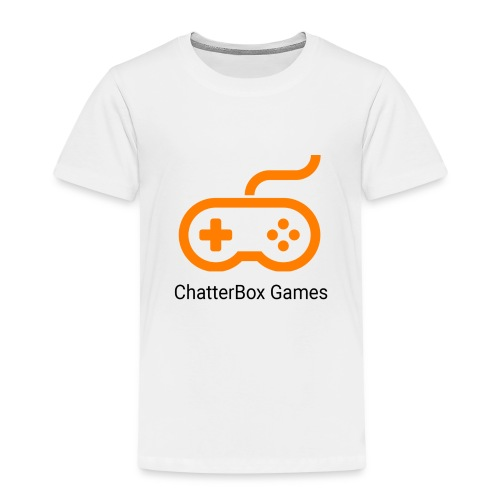 Logo with Black text - Kids' Premium T-Shirt