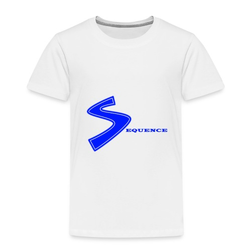 SEQUENCE BLUE - Kinder Premium T-Shirt