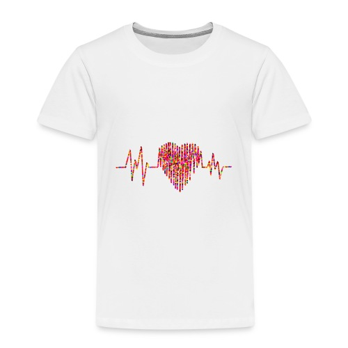 Herz Kardiogramm - Kinder Premium T-Shirt