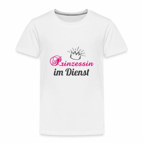 Prinzessin im Dienst - Kinder Premium T-Shirt