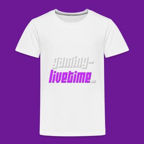 Gaming-livetime.net logo - Kinder Premium T-Shirt
